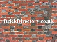 Wikipedia Description of what a brick is . This picture shows Brickwork using a 'Flemish' bond  with glazed headers and 18th century 'orangy red' handmade brick. EspadaRolls! Do use this picture for linking to this web site.