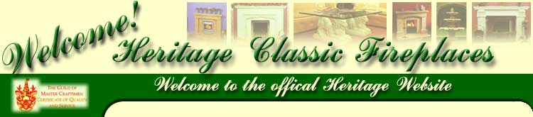 Heritage classic fireplaces. Manufacturers