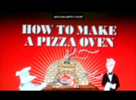 How to make a Brick Pizza Oven You Tube video by James May